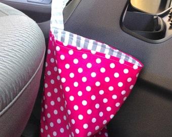 Reversible Car Trash Bag