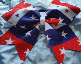 Star 4th of July Bow