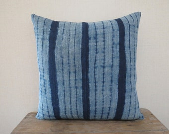 """18""""x18""""Vintage Hemp Textile, Decorative Cushion cover, Tradition Ethnic fabric, Cushions and pillows,"""