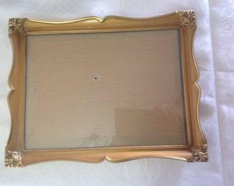 Vintage photo frame concave glass Denmark
