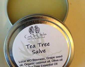 All Natural Tea Tree  Salve