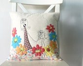 Kid Art Pillow Case -custom for Genevieve