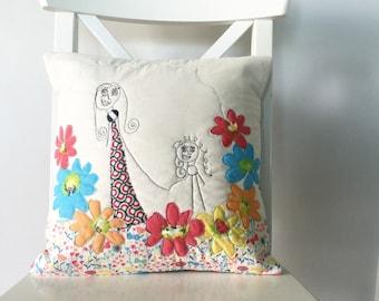 Kid Art Pillow Case