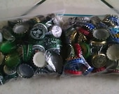 Approximately 225 Assorted Colorful Bottlecaps