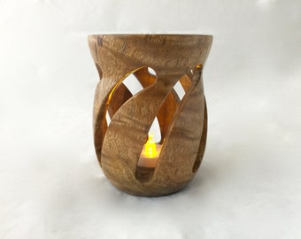 Curved Tea Light Votive HH 15