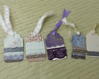 Gift Tags vintage inspired