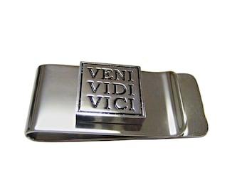 Veni Vidi Vici Money Clip