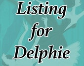 Special Listing for Delphie