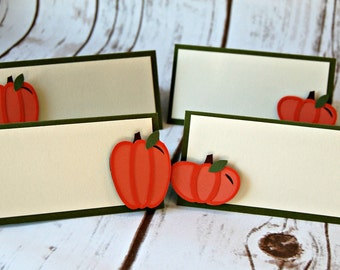 Pumpkin Name Tags (set of 6)