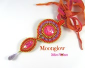 Moonglow Pendant Tutorial/Pattern/PDF CRAW
