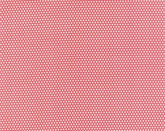 PRESALE Little Ruby Bliss Dot Red 55134 11 by Bonnie and Camille from Moda -1 yard