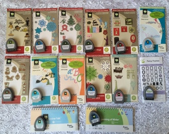 New Cricut Cartridges -  Give a Hoot, Christmas Village, Paper Lace, Quarter Note and more