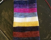 Saturated Sock Selfstriping  12 color  The 12 Days Of Christmas