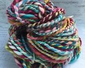SALE! Handspun bulky two ply yarn superwash merino