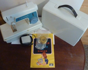 singer little touch and sew 1967 sewing machine with original box