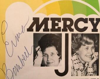 1976 Erma Bombeck Signed Program