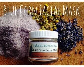 Blue Corn Facial Mask