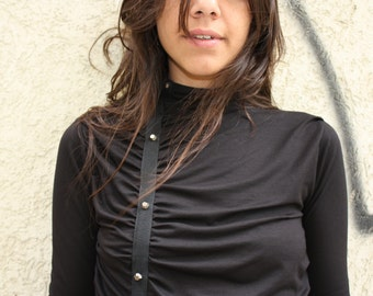 Turteleneck Dress,Little Black Dress, Black Dress, Sexy Black Dress, Goth Dress,
