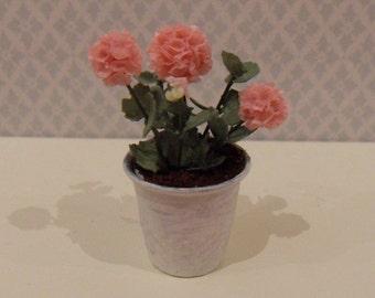 Handmade pink geranium
