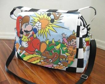 Nintendo Super Mario Diaper bag / shoulder and messenger bag