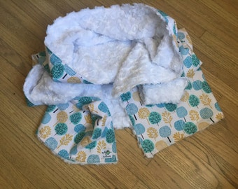 the chic baby blanket - sweet trees
