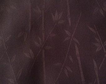 SANGRIA  Silk Fabric with Bamboo Design