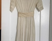 Vintage esrly 1900's Edwardian Dress