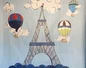 Paris Mural - Canvas Mura...