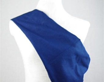 Linen Sling Pouch Baby Carrier - Made by Earthslings - Navy Blue