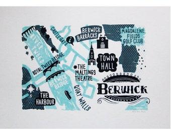 Berwick Screen Print