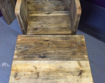 Rustic Childs Table & Chair
