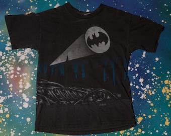 BATMAN Double Sided T-Shirt Size L