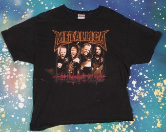 METALLICA Metal Rock T-Shirt Size XL