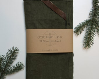 100% Natural Linen Tea Towel