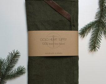 100% Natural Linen Tea Towel