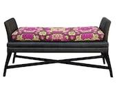 Modern Ming: Woven Bench