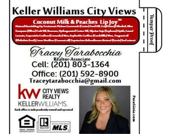 Realtors, Personalized, Lip Balm, Chapsticks, Promotional, Labels, Stickers, Business, Cards, LOGO, Real Estate, Agent, Stickers, Marketing,