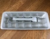Vintage Ice Cube tray / Mid Century Kitchen / Metal Ice Cube Tray