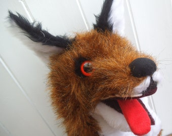 Foxy Loxy (ventriloquist glove puppet)