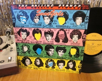 The Rolling Stones - Some Girls - Die-Cut Jacket - Miss You - Essential Stones