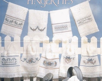 Bouquets For Fingertips By Diane Brakefield--10 Designs--Cross-stitch
