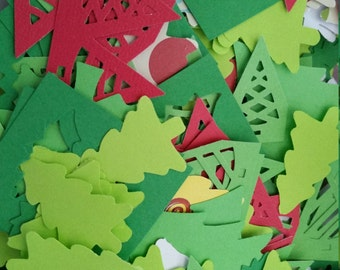 Christmas trees assortment Paper Punches