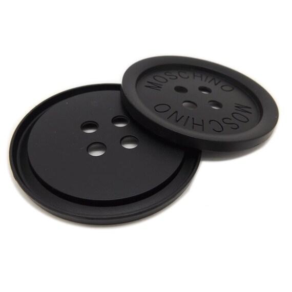 6 pcs inch extra large black letters 4 hole metal shell. Black Bedroom Furniture Sets. Home Design Ideas