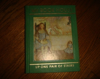 1965 My Book House Up One Pair of Stairs Childrens Profusely Illustrated Book tabby Gray Song of Solomon Indian Children &