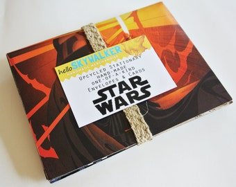 upcycled stationary STAR WARS (six sets, made to order)