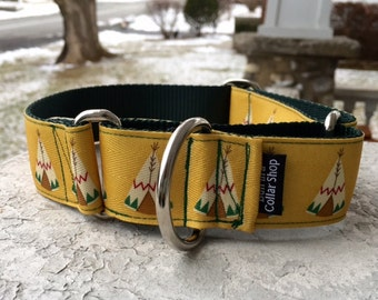 "Frank's Tepees - 1.5"" Martingale Collar"