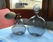 Perfume spray bottle and Murano Venice ITALIE
