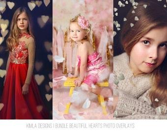 Bundle Beautiful Hearts Photo Overlays