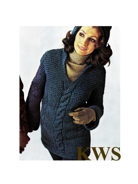 Hooded Knit Sweater Instructions Cardigan With Buttons