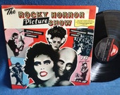 "RARE, Vintage, ""Rocky Horror Picture Show"" Original Soundtrack, Vinyl LP, Record, First Press, Tim Curry, Meatloaf, Transexual Transvestite"